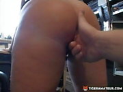 Busty and slutty amateur Milf sucks and fucks with facial