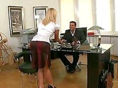 Hot Czech Secretary Fucked By Boss