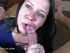 Slow Teasing leads to a Huge Creampie - Azzurra