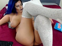 Katja Kassin anal pounded by hands toys and penis