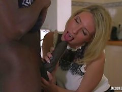 Two French Amateur cuckold swinger MILFs with big black Dick