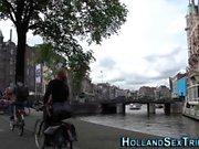 Dutch hooker gets spunk