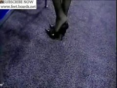 pantyhose,stocking,nylon,feet,toes,soles,legs,shoes,footjob,233-554L