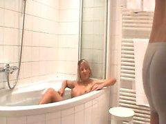 German bath Lexie from 1fuckdatecom
