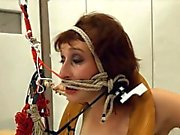 To much of rope and enchanting BDSM submissive sex