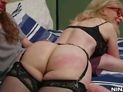 Nina Hartley and Connor