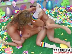 Jolly Mother Phoenix Marie And Richelle Ryan In Threesome Uniform