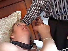 Fetish MILF takes a mouthful