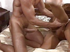 Kinky Old Lady Sucking Cock Spreading Her Legs