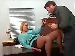 Pleasuring the boss