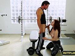 Hot pornstar deepthroat and cum in mouth