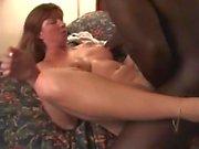 Redhead Milf Having an Orgasm on Black Cock