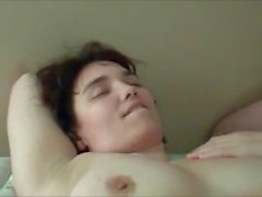 Amateur cuckolding wife MMF threesome