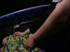 Sleepy Milfs groped on a bus 2