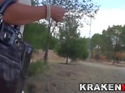 Krakenot - Provocative milf in voyeur video outdoor