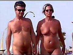 Nudes Walking On Beach BVR