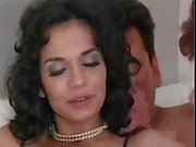 Hot threesome with MILFs and there's cock sucking and anal fucking