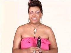 Mature Ebony Milf teaches how to suck dick