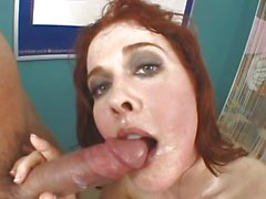 Filthy Mae Victoria loves guzzling down hot nut juice