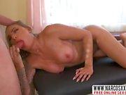 Blonde Tattoed Mom Juelz Ventura Gets Massage
