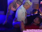PUNKER NUTTEN - german punk tattoo skinhead hooker fuck in brothel