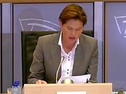 Young Commissioner Candidate Getting Fucked by Eu Parliament Members!