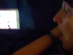 Sexy cum slut wife takes dick while talking about fucking ot