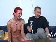Horny German redhead gets wrecked by her neighbor