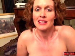 Natural tits milf sex and cumshot