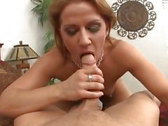 Super sexy MILF Inari Vachs ruts her sweet snatch on a horny bucks pole