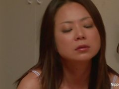Asian MILF takes matters into her own hands