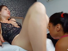 A Dominatrix Queen Angel and Great Cum - Rimming with MILF