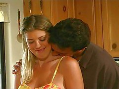 Hot Busty Bree Brooks Bangs In Kitchen