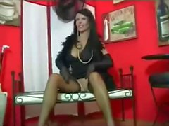 Hot Cougar In Stockings and Heels JOI