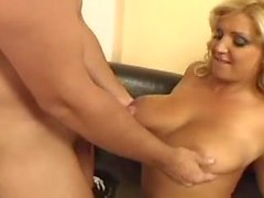 Chintia Flowers - Huge Hanging Floppy Tits Blond Fucked
