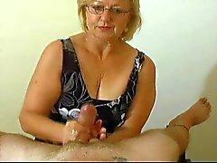Mrs. Watson gives another great handjob