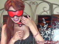 Kinky Milf Shanda Fay Sucks Cock While Blindfolded!
