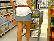 sexy milf on shopping