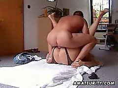 Chubby babe fucked in a hot homemade porno