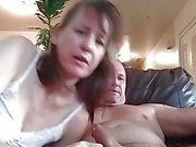 Cumming in her mouth!