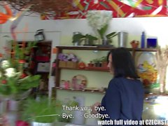 FSized Tits Mature Get Fucked in Flower Store
