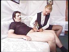 Prim And Proper Milf Turns Into A Slut !