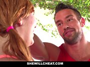 SheWillCheat - Hot Gunger WIfe Fucking Personal Trainer
