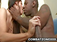India Summer doggy fucked by black cock