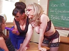 SCHOOL OF SEX 2 Best sex ever with Lesbian Teachers