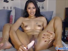 Hory milf oil play and enjoy her toys