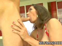 Persia: Horny Juggy Mom Craving For Young Sex