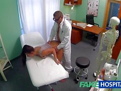 FakeHospital Dirty milf sex addict gets fucked by the d