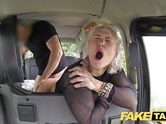 Kinky blonde milf gets surprise anal sex