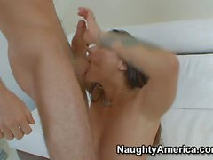 Euro MILF Nikita Denise with tits and ass gets humped